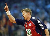 Håndball, 2. januar 2003, EM kvalifisering herrer, Norge - Romania. Johnny Jensen , Norge