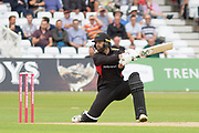 Aaron Lilley batting during the Vitality T20 Blast North Group match between Notts Outlaws and Leicestershire Foxes at Trent Bridge, West Bridgford, United Kingdon on 27 July 2019.