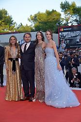 Natalie Portman, Brady Corbet, Stacy Martin, Raffey Cassidy attending the Vox Lux premiere during the 75th Venice Film Festival