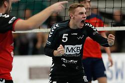 20181124 NED: Volleyball Top League ZVH - VCV: Zevenhuizen<br />Daan Pardijs (5) of MKB Accountants VCV <br />©2018-FotoHoogendoorn.nl / Pim Waslander