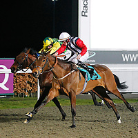 Debdebdeb and David Probert winning the 7.30 race
