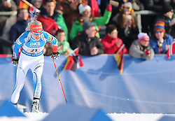 11.03.2016, Holmenkollen, Oslo, NOR, IBU Weltmeisterschaft Biathlon, Oslo, 4x6 Km Staffel, Damen, im Bild Kaisa Makarainen (FIN) // during 4x6 km women relay of the IBU World Championships, Oslo 2016 at the Holmenkollen in Oslo, Norway on 2016/03/11. EXPA Pictures © 2016, PhotoCredit: EXPA/ Newspix/ Tomasz Jastrzebowski<br /> <br /> *****ATTENTION - for AUT, SLO, CRO, SRB, BIH, MAZ, TUR, SUI, SWE only*****