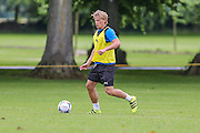 Forest Green Rovers Harry Hickford during the Forest Green Rovers Training at the Cirencester Agricultural College, Cirencester, United Kingdom on 12 July 2016. Photo by Shane Healey.