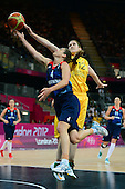 Basketball, Womens - Australia vs Great Britain (Preliminary Round Group B)