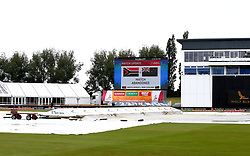 The Women's World Cup match between South Africa Women and New Zealand Women is abandoned due to rain at Derby - Mandatory by-line: Robbie Stephenson/JMP - 28/06/2017 - CRICKET - County Ground - Derby, United Kingdom - South Africa Women v New Zealand Women - ICC Women's World Cup Match 6