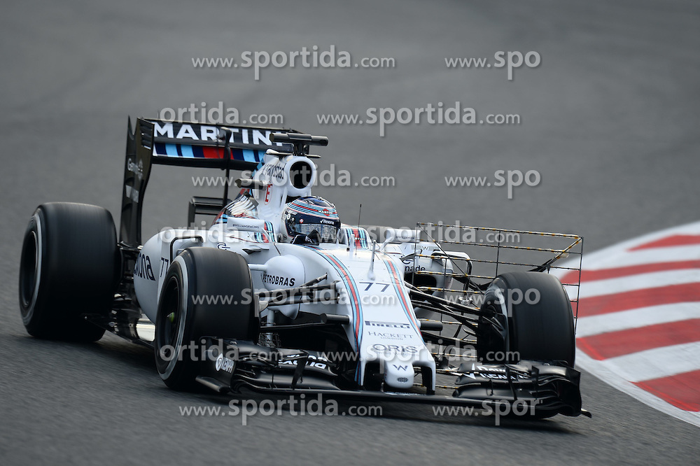 27.02.2015, Circuit de Catalunya, Barcelona, ESP, FIA, Formel 1, Testfahrten, Barcelona, Tag 2, im Bild Valtteri Bottas (FIN) Williams FW37 // during the Formula One Testdrives, day two at the Circuit de Catalunya in Barcelona, Spain on 2015/02/27. EXPA Pictures &copy; 2015, PhotoCredit: EXPA/ Sutton Images/ Patrik Lundin Images<br /> <br /> *****ATTENTION - for AUT, SLO, CRO, SRB, BIH, MAZ only*****