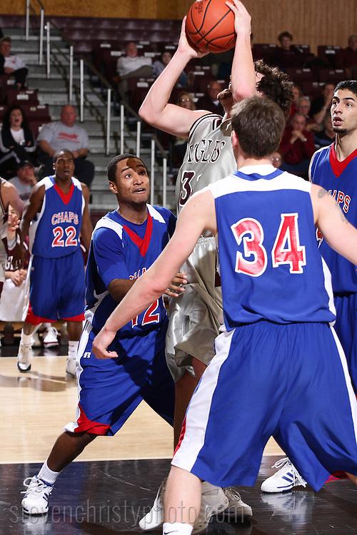 OC Men's Basketball vs Lubbock Christian.SAC Tournament, Round 1.March 5, 2008