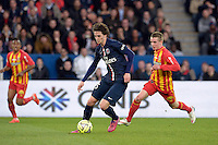 Adrien Rabiot  - 07.03.2015 -   PSG / Lens -  28eme journee de Ligue 1 <br />Photo : Andre Ferreira / Icon Sport