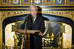 © licensed to London News Pictures. London, UK 23/10/2013. John Bercow<br />