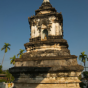 The stupa of Wat Hua Khuang in Nan, Thailand.