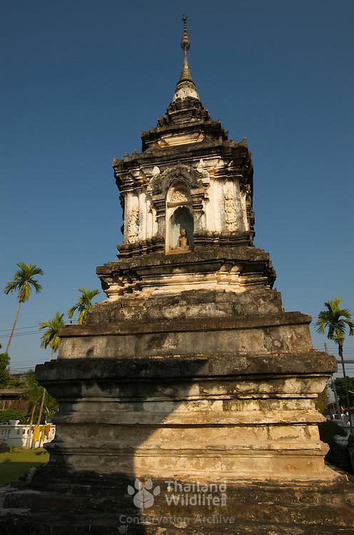 The stupa of Wat Hua Khuang in Nan, Thailand.
