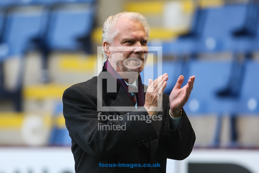 West Ham United chairman David Gold after the Barclays Premier League match at Turf Moor, Burnley<br /> Picture by Daniel Chesterton/Focus Images Ltd +44 7966 018899<br /> 18/10/2014