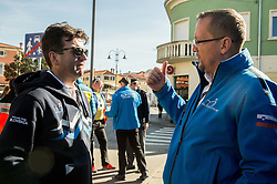 Ales Kalan and Martin Hvastija during the UCI Class 1.2 professional race 4th Grand Prix Izola, on February 26, 2017 in Izola / Isola, Slovenia. Photo by Vid Ponikvar / Sportida