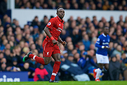 LIVERPOOL, ENGLAND - Sunday, March 3, 2019: Liverpool's Sadio Mane during the FA Premier League match between Everton FC and Liverpool FC, the 233rd Merseyside Derby, at Goodison Park. (Pic by Laura Malkin/Propaganda)