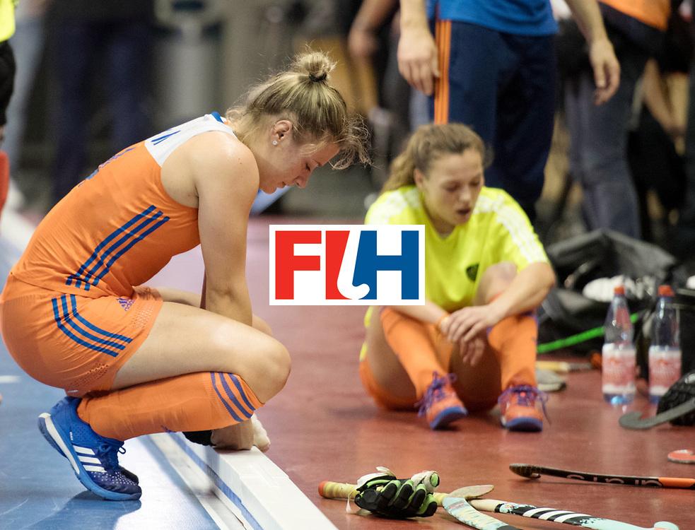 BERLIN - Indoor Hockey World Cup<br /> Final: Netherlands - Germany<br /> foto: Lieke van Wijk <br /> WORLDSPORTPICS COPYRIGHT FRANK UIJLENBROEK