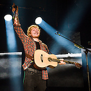 Ed Sheeran performing at Merriweather Post Pavilion on September 7, 2014. <br /> Photos By Richie Downs /Copyright &copy; Richie Downs. All Rights Reserved.