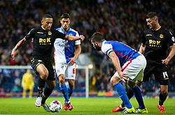 Liam Feeney of Bolton Wanderers attacks - Mandatory byline: Matt McNulty/JMP - 07966386802 - 28/08/2015 - FOOTBALL - Ewood Park -Blackburn,England - Blackburn Rovers v Bolton Wanderers - SkyBet Championship