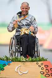 226 ESKAU Andrea, H5, GER, Podium, Cycling, Road Race à Rio 2016 Paralympic Games, Brazil