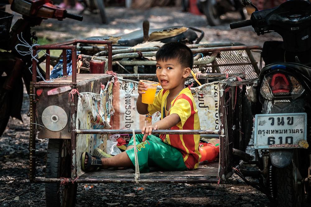 Songkran in Rural Thailand 2016