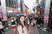 Sabrina exploring Harajuku, Tokyo.
