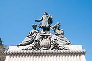 Miguel Hidalgo monument, Parque Del Oeste, Madrid, Spain
