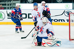 Stephen Murphy of Great Britain during ice-hockey match between Great Britain vs Slovenia at IIHF World Championship DIV. I Group A Slovenia 2012, on April 15, 2012 at SRC Stozice, Ljubljana, Slovenia. (Photo By Matic Klansek Velej / Sportida.com)