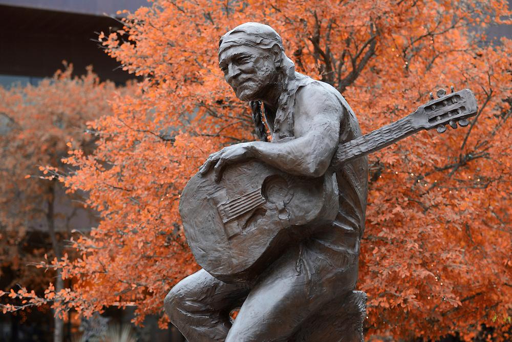 Willie Nelson Statue,301 Willie Nelson Blvd, City of Austin, Texas, USA