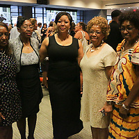 Left to right Caroline Crouch, Helena Herring, Dr. Tracy Marcel, Linda Carr, and Mary Wright pose for a photo Saturday September 20, 2014 during the 4th Annual Care Project Gala at Union Station in Wilmington, N.C. (Jason A. Frizzelle)