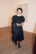 MARI SAITO, Yayoi Kusama opening. Tate Modern. London. 7 February 2012