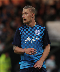 QPR's Sebastian Polter - Photo mandatory by-line: Harry Trump/JMP - Mobile: 07966 386802 - 11/08/15 - SPORT - FOOTBALL - Capital One Cup - First Round - Yeovil Town v QPR - Huish Park, Yeovil, England.