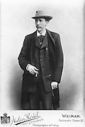 Richard Strauss, 1864-1949, German composer of the late Romantic and early modern eras, photograph by the Hertel studio in Weimar, c. 1890. Copyright © Collection Particuliere Tropmi / Manuel Cohen