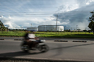 The oil activity continues in the Amazon