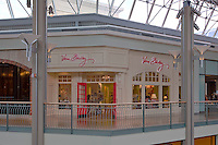 Architectral interior image of the Mall in Columbia by Maryland photographer Jeffrey Sauers