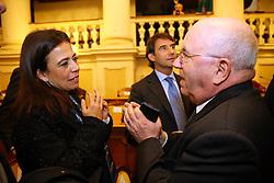 ROSELLA SENSI E CARLO TAVECCHIO<br /> PRESENTAZIONE FINALE CHAMPIONS LEAGUE CALCIO FEMMINILE A REGGIO EMILIA<br /> REGGIO EMILIA 16-02-2016<br /> FOTO FILIPPO RUBIN