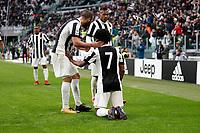 05.11.2017 - Torino - Serie A 2017/18 - 12a giornata  -  Juventus-Benevento nella  foto: Juan Cuadrado esulta dopo il gol del 2 a 1