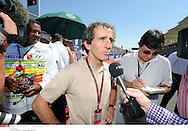 Grand prix de Bahraïn 2010..Circuit de shakir. 14 mars 2010..Pilotes saison 2010..Photo Stéphane Mantey/ L'Equipe. *** Local Caption *** prost (alain)