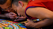 mandala sand paintings