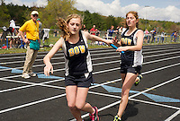 Gilford High School track meet May 5, 2012.