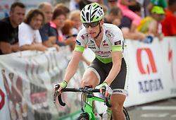 Bostjan Rezman of Voarlberg team during Slovenian Road Cyling Championship 2013 on June 23, 2013 in Gabrje, Slovenia. (Photo by Vid Ponikvar / Sportida.com)
