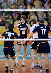 08-07-2010 VOLLEYBAL: WLV NEDERLAND - ZUID KOREA: EINDHOVEN<br /> Nederland verslaat Zuid Korea met 3-0 / Dick Kooy<br /> ©2010-WWW.FOTOHOOGENDOORN.NL