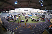 Feb 25, 2017; Seattle, WA, USA; General overall view of the MPSF Indoor Championships at the Dempsey Indoor.