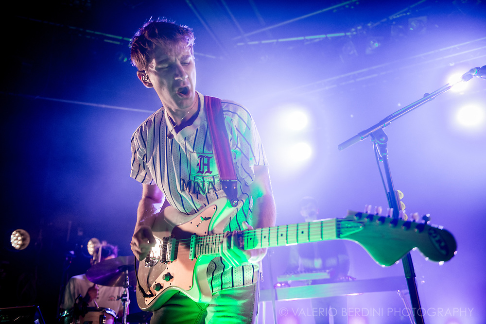 Dave Bayley of Glass Animals live at the Junction in Cambridge, UK.