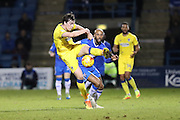 AFC Wimbledon defender Sean Kelly (22) during the EFL Sky Bet League 1 match between Gillingham and AFC Wimbledon at the MEMS Priestfield Stadium, Gillingham, England on 21 February 2017.