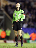 Photo: Rich Eaton.<br /> <br /> Birmingham City v Preston North End. Coca Cola Championship. 09/12/2006. referee Mike Riley who awarded Birmingham a late second half penalty