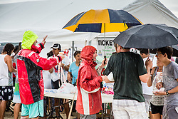 The rain didn't stop the 31st Annual Texas Society Chilli Cookoff Brewers Bay.  St. Thomas, USVI.  16 August 2015.  © Aisha-Zakiya Boyd