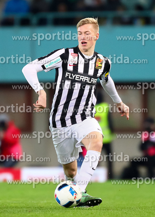 12.03.2016, Ernst Happel Stadion, Wien, AUT, 1. FBL, SK Rapid Wien vs FC Admira Wacker Mödling, 27. Runde, im Bild Markus Pavic (FC Admira Wacker Mödling) // during Austrian Football Bundesliga 27th round match between SK Rapid Vienna and FC Admira Wacker Mödling at the Ernst Happel Stadion, Vienna, Austria on 2016/03/12, EXPA Pictures © 2016, PhotoCredit: EXPA/ Sebastian Pucher