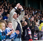 Standing ovation for Dundee at full time - Stirling Albion v Dundee, IRN BRU Scottish League 1st Division, Forthbank Stadium, Stirling<br /> <br />  - &copy; David Young<br /> ---<br /> email: david@davidyoungphoto.co.uk<br /> http://www.davidyoungphoto.co.uk