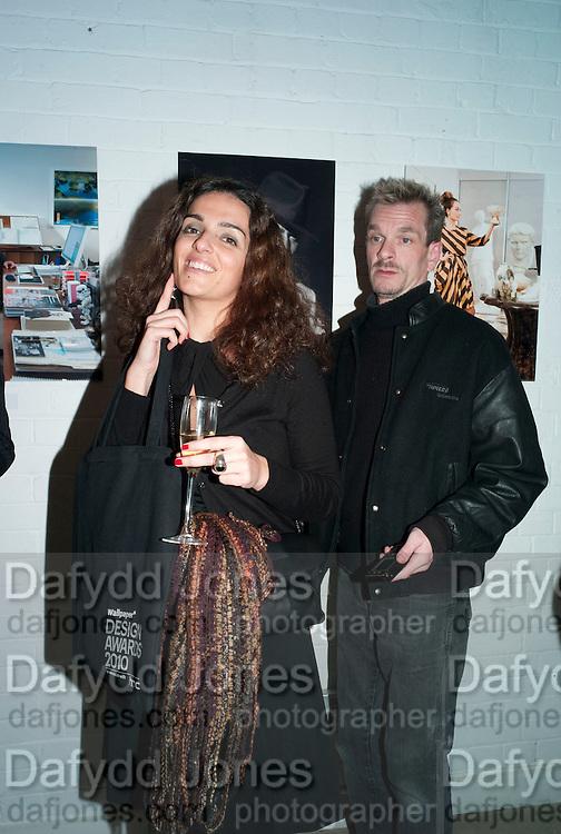 ANNA RIJO, Wallpaper* Design Awards. Wilkinson Gallery, 50-58 Vyner Street, London E2, 14 January 2010 *** Local Caption *** -DO NOT ARCHIVE-© Copyright Photograph by Dafydd Jones. 248 Clapham Rd. London SW9 0PZ. Tel 0207 820 0771. www.dafjones.com.<br /> ANNA RIJO, Wallpaper* Design Awards. Wilkinson Gallery, 50-58 Vyner Street, London E2, 14 January 2010