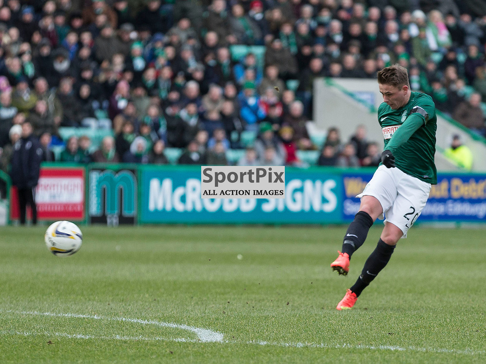 Hibernian FC v Raith Rovers FC <br /> <br /> during the SPFL Championship match between Hibernian and Raith Rovers at Easter Road Stadium on Saturday 31 January 2015.<br /> <br /> <br /> Picture Alan Rennie.