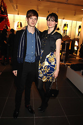 Singer SOPHIE ELLIS-BEXTOR and RICHARD JONES at a party to celebrate the opening of the new H&M store at 234 Regent Street, London on 13th February 2008.<br /><br />NON EXCLUSIVE - WORLD RIGHTS